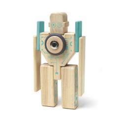 Magbot, set din lemn magnetic Tegu